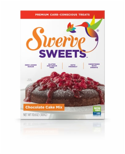 Swerve Sweets Chocolate Cake Mix Perspective: front