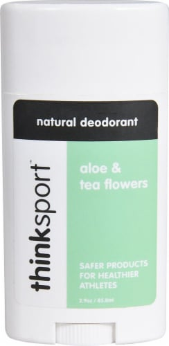 Thinksport Aloe & Tea Flowers Natural Deodorant Perspective: front