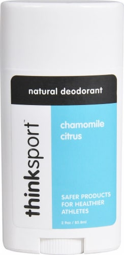 Thinksport  Natural Deodorant Chamomile Citrus Perspective: front