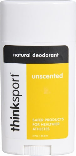 Thinksport  Natural Deodorant Unscented Perspective: front