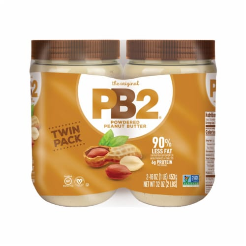PB2 Powdered Peanut Butter Twin Pack Perspective: front