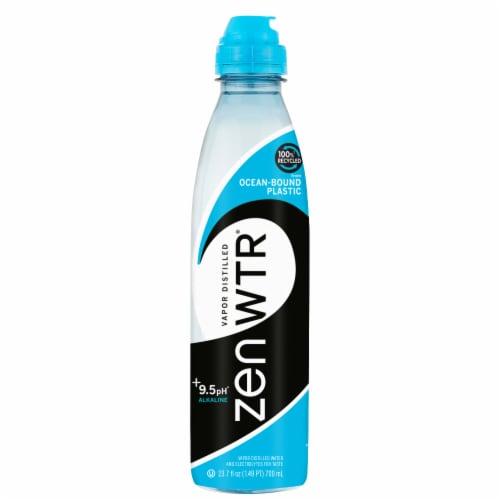 Zen Beverage Vapor Distilled Water Perspective: front