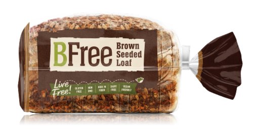 BFree Wheat & Gluten Free Brown Seeded Loaf Perspective: front