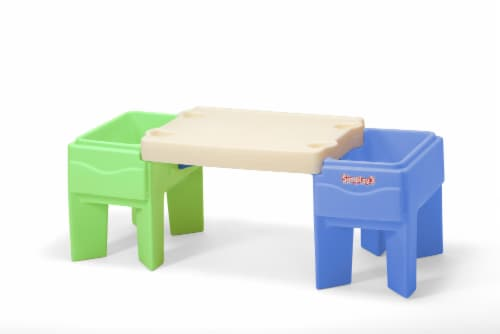 Simplay3 In & Out Activity Table Perspective: front