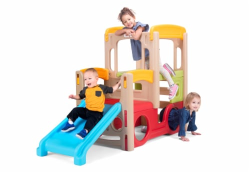 Simplay3 Adventure Climber Playset Perspective: front