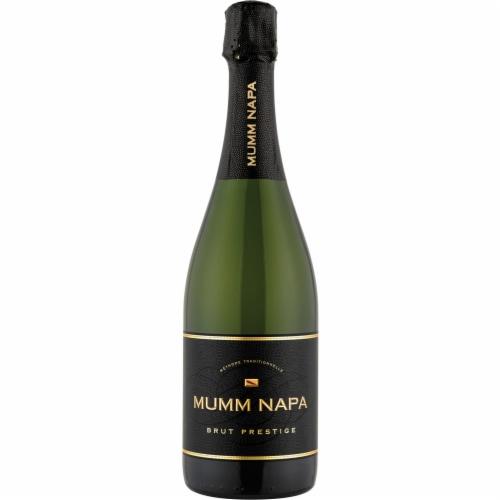 Mumm Napa Brut Prestige Sparkling Wine Perspective: front