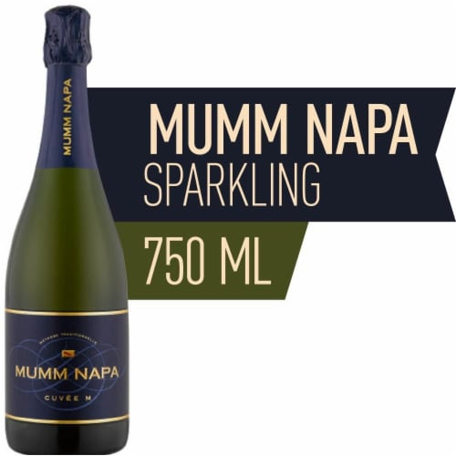 Mumm Napa Cuvee Sparkling Wine Perspective: front