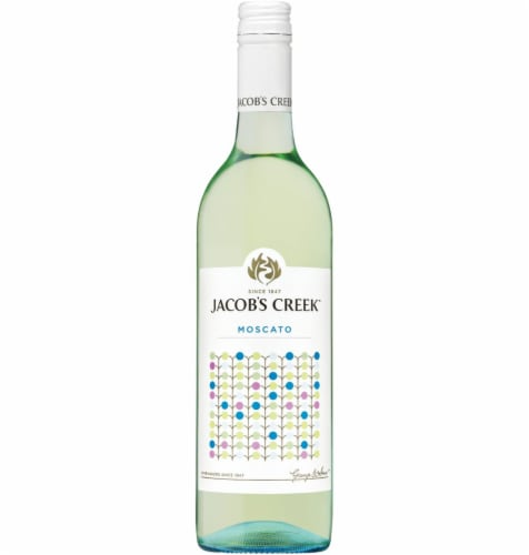 Jacob's Creek Moscato White Wine Perspective: front