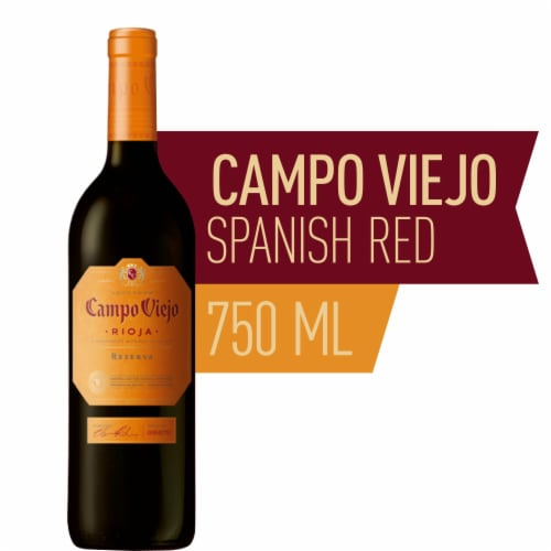 Campo Viejo Reserva Red Wine Blend Perspective: front