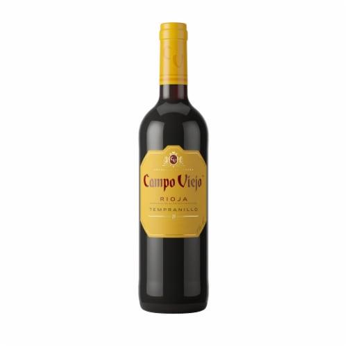 Campo Viejo Rioja Tempranillo Red Wine Perspective: front