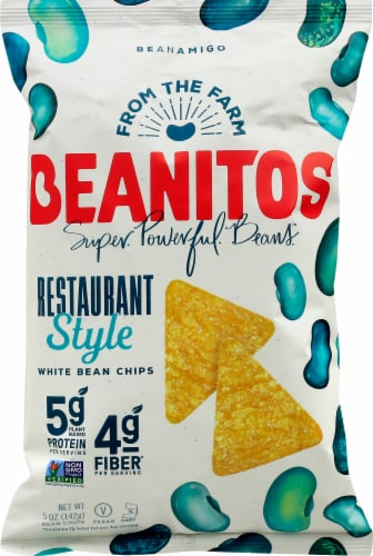 Beanitos Restaurant Style White Bean Tortilla Chips Perspective: front