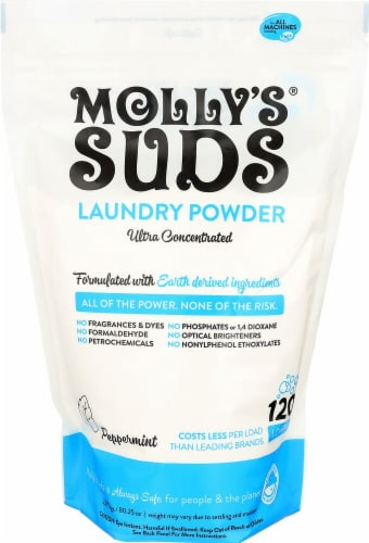 Molly's Suds  Laundry Powder Ultra Concentrated Perspective: front