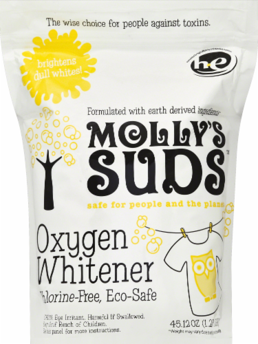 Molly's Suds Oxygen Whitener Laundry Detergent Perspective: front