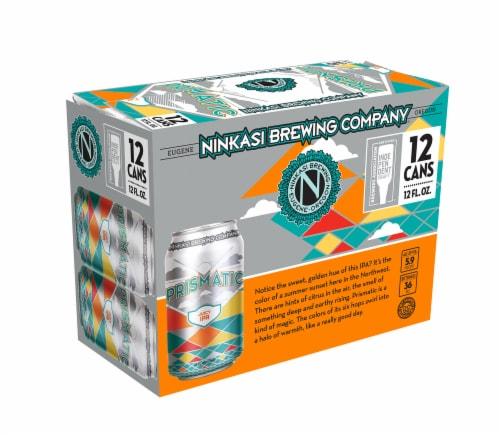 Ninkasi Prismatic Juicy IPA Beer Perspective: front