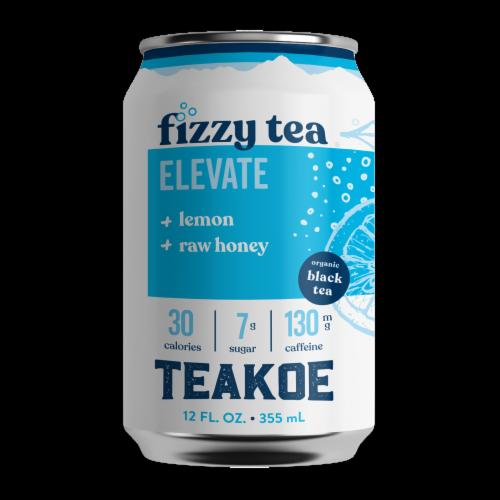 Teakoe Honey & Lemon Fizzy Black Tea Perspective: front