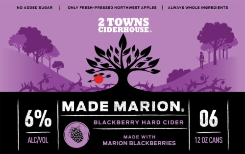 2 Towns Ciderhouse Made Marion Perspective: front