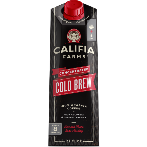 Califia Cold Brew Concentrated Perspective: front