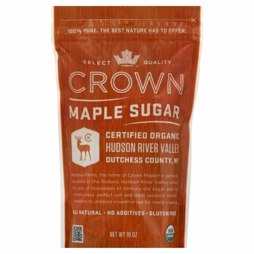 Crown Maple Organic Maple Sugar Perspective: front