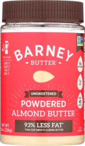 Barney Butter Unsweetened Powdered Almond Butter Perspective: front