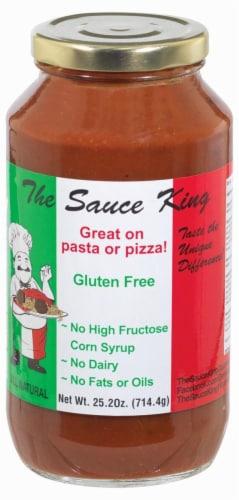 The Sauce King Gourmet Pasta Sauce - Gluten Free Perspective: front