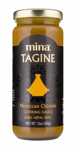 Mina Tagine Moroccan Chicken Cooking Sauce Perspective: front
