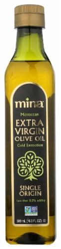 Mina Single Origin Moroccan Extra Virgin Olive Oil Perspective: front