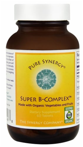 Pure Synergy  Super B-Complex™ Perspective: front