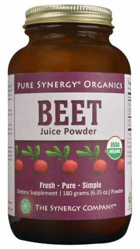 Pure Synergy  Organics Beet Juice Powder Perspective: front