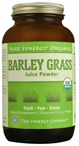 Pure Synergy  Organics Barley Grass Juice Powder Perspective: front