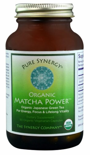Pure Synergy  Organic Matcha Power™ Perspective: front