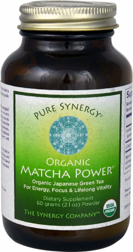 Pure Synergy  Organic Matcha Power® Perspective: front