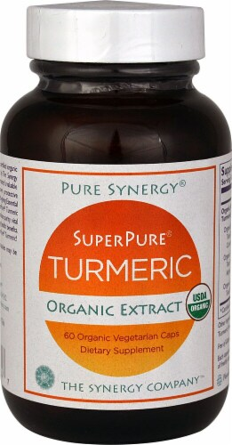Pure Synergy  SuperPure® Turmeric Organic Extract Perspective: front