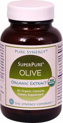 Pure Synergy  Organic SuperPure® Olive Extract Perspective: front