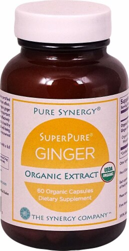 Pure Synergy  SuperPure® Organic Ginger Extract Perspective: front