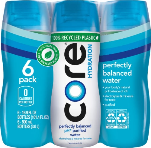 Core Hydration Perfectly Balanced Water Perspective: front