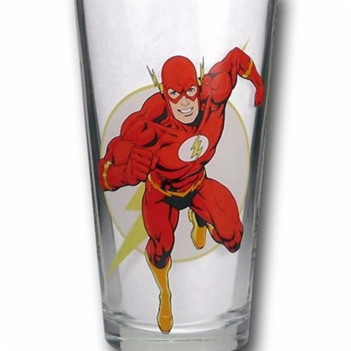 Flash Pint Glass Perspective: front
