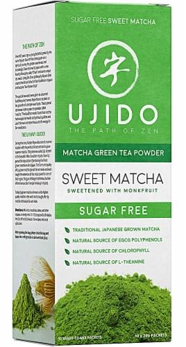 Ujido Sweet Matcha Green Tea Powder Perspective: front