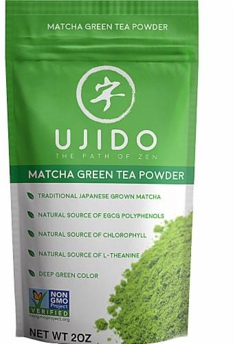 Ujido Matcha Green Tea Powder Perspective: front