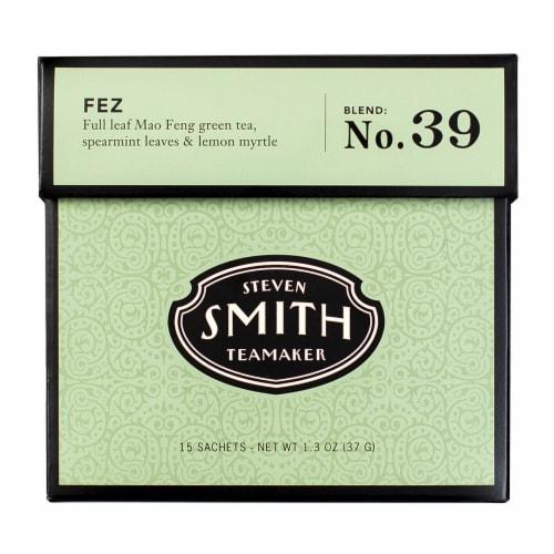 Steven Smith Teamaker Fez Green Tea Sachets Perspective: front