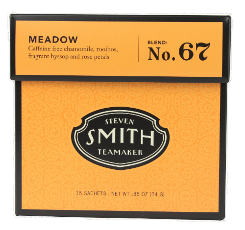 Steven Smith Teamaker Meadow Herbal Tea Sachets Perspective: front