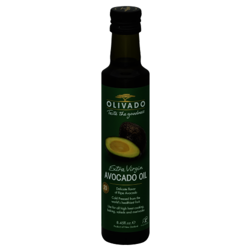 Olivado Extra Virgin Avocado Oil Perspective: front
