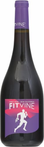 Fitvine Pinot Noir Red Wine Perspective: front