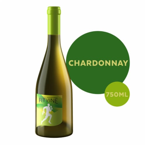 Fitvine Chardonnay Wine Perspective: front
