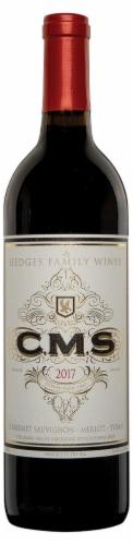 Hedges C.M.S. Cabernet Sauvignon Merlot Syrah Blend Red Wine Perspective: front