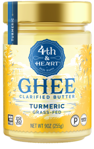 4th & Heart Turmeric Ghee Perspective: front