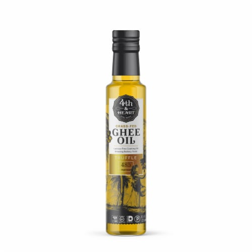 4th & Heart Truffle Ghee Oil Perspective: front