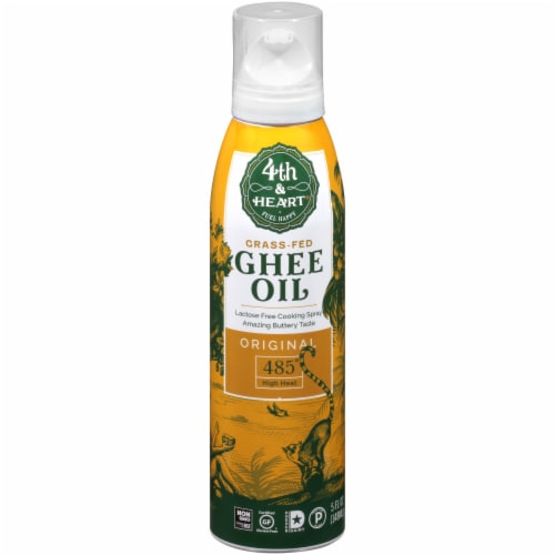 4th & Heart Original Spray Ghee Oil Perspective: front