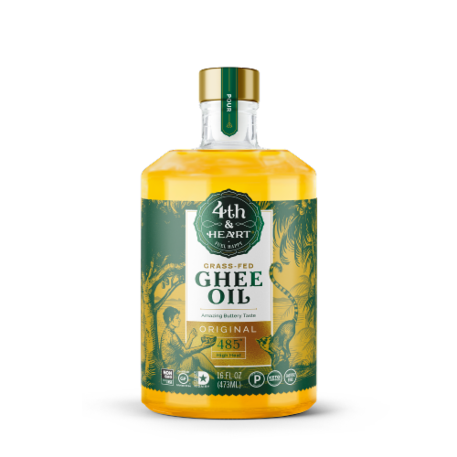 4th & Heart Ghee Oil Perspective: front