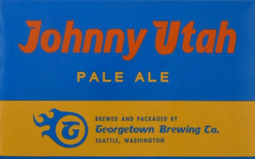 Georgetown Brewing Johnny Utah Pale Ale Perspective: front
