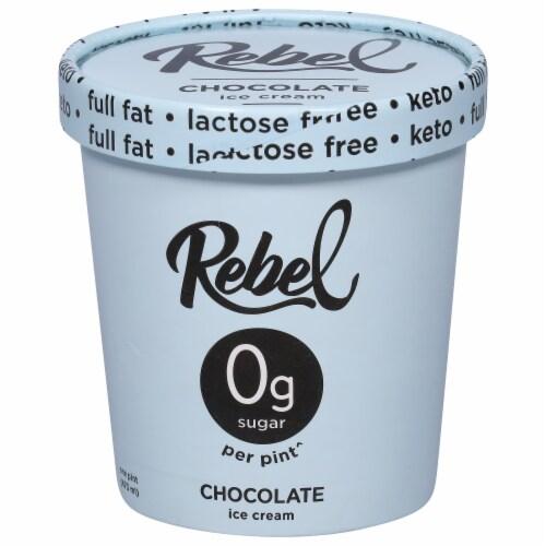 Rebel Chocolate Ice Cream Perspective: front